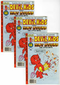 Bronze Age (1970-1979):Cartoon Character, Devil Kids #90 Multiple File Copies Group (Harvey, 1978) Condition:Average VF....