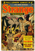 Golden Age (1938-1955):Horror, Strange Terrors #7 (St. John, 1953) Condition: FN-....