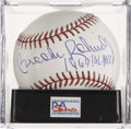 "Autographs:Baseballs, Brooks Robinson ""1964 AL MVP"" Single Signed Baseball, PSA Mint+9.5. ..."