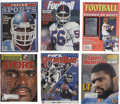 Football Collectibles:Others, Lawrence Taylor Signed Magazines Lot of 6....