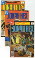 Bronze Age (1970-1979):Western, Jonah Hex Group (DC, 1977-79) Condition: Average VF.... (Total: 17 Comic Books)