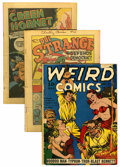 Golden Age (1938-1955):Miscellaneous, Miscellaneous Golden Age Group (Various Publishers, 1940-41) Condition: Coverless.... (Total: 4 Comic Books)