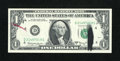 Error Notes:Ink Smears, Fr. 1901-D $1 1963A Federal Reserve Note. Gem Crisp Uncirculated.....