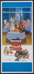 "Movie Posters:Animated, Lady and the Tramp (Buena Vista, R-1980). Australian Daybill(13.25"" X 26.75""). Animated...."