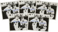 Autographs:Others, 1990's Ted Williams & Joe DiMaggio Signed Photographs Lot of 5....