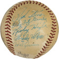 Autographs:Baseballs, 1948 Pittsburgh Pirates Team Signed Baseball....