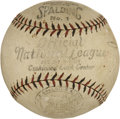Baseball Collectibles:Others, Official John Heydler Vintage National League Ball....
