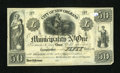 Obsoletes By State:Louisiana, New Orleans, LA - City of New Orleans, Municipality No. One $50 May 25, 1842. ...
