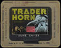 "Movie Posters:Adventure, Trader Horn Lot (MGM, 1931). Glass Slides (3) (3.25"" X 4"").Adventure.... (Total: 3 Items)"