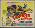 "Movie Posters:Sports, Thunder in Carolina (Howco, 1960). Half Sheet (22"" X 28"") Style B. Sports...."