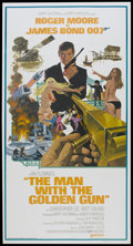 "Movie Posters:James Bond, The Man With the Golden Gun (United Artists, 1974). InternationalThree Sheet (41"" X 81""). James Bond...."