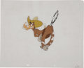 Animation Art:Production Drawing, Cowboy Horse Animation Production Cel Original Art (undated)....
