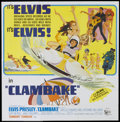 "Movie Posters:Elvis Presley, Clambake (United Artists, 1967). Six Sheet (81"" X 81""). ElvisPresley...."