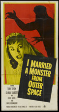 "Movie Posters:Science Fiction, I Married a Monster From Outer Space (Paramount, 1958). Three Sheet(41"" X 81""). Science Fiction...."