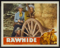 "Movie Posters:Western, Rawhide (Guaranteed, R-1940s). Lobby Card (11"" X 14""). Western...."