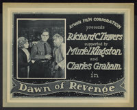 "Dawn of Revenge (Aywon Film, 1922). Lobby Card Set of 8 (11"" X 14""). Western.... (Total: 8 Items)"
