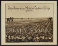 """Movie Posters:Western, A Debtor to the Law (Pan American, 1919). Title Lobby Card and Lobby Cards (3) (11"""" X 14""""). Western.... (Total: 4 Items)"""