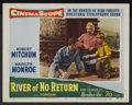 "Movie Posters:Adventure, River of No Return (20th Century Fox, 1954). Lobby Card (11"" X14""). Adventure...."