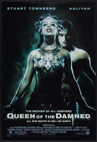 """Queen of the Damned (Warner Brothers, 2002). One Sheet (27"""" X 40"""") DS. Horror"""
