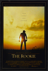 "The Rookie (Buena Vista, 2002). One Sheet (27"" X 40"") DS. Sports"