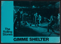 "Gimme Shelter (20th Century Fox, 1970). Lobby Card (10.5"" X 15""). Rock and Roll"
