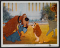 "Movie Posters:Animated, Lady and the Tramp (Buena Vista, 1955). Lobby Card (11"" X 14"").Animated...."