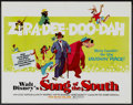 "Movie Posters:Animated, Song of the South (Buena Vista, R-1972). Half Sheet (22"" X 28"").Animated...."