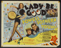 "Movie Posters:Comedy, Lady Be Good (MGM, 1941). Half Sheet (22"" X 28""). Comedy...."