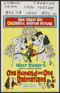 "Movie Posters:Animated, 101 Dalmatians Lot (Buena Vista, 1961). Window Cards (4) (14"" X22""). Animated.... (Total: 4 Items)"