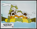 """Movie Posters:Animated, Race for Your Life, Charlie Brown (Paramount, 1977). Lobby Cards (5) (11"""" X 14""""). Animated.... (Total: 5 Items)"""