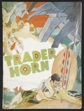 Movie Posters:Adventure, Trader Horn (MGM, 1931 and R-1938). Programs (4) (Multiple Pages)and Heralds (4) (Various Sizes). Adventure.... (Total: 8 Items)