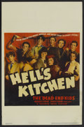 "Movie Posters:Crime, Hell's Kitchen (Warner Brothers, 1939). Window Card (14"" X 22"").Crime...."