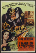 "Movie Posters:Adventure, I Married Adventure (Columbia, 1940). Poster (40"" X 60"").Adventure...."