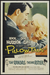 "Pillow Talk (Universal, 1959). One Sheet (27"" X 41""). Comedy"