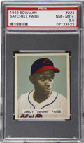 Baseball Cards:Singles (1940-1949), 1949 Bowman Satchell Paige #224 PSA NM-MT+ 8.5....