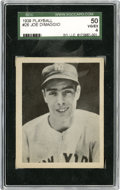 Baseball Cards:Singles (1930-1939), 1939 Play Ball Joe DiMaggio #26 SGC 50 VG/EX 4....