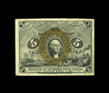 Fractional Currency:Second Issue, Fr. 1232 5c Second Issue Gem New. All margins are at least 1mm on this note that divulges a partial plate number in the lowe...