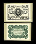 Milton 3S5F.1c & 3S5R.2b 5¢ Third Issue Proof Pair Gem New. This pair is from our sale of the Dr. Wallace Lee C...