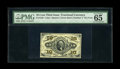 """Fractional Currency:Third Issue, Fr. 1256 10c Third Issue PMG Gem Uncirculated 65 EPQ. This is a lovely example of this much scarcer """"1"""" on face variety...."""