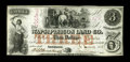 Obsoletes By State:Iowa, Anamosa, IA- Wapsipinicon Land Co. $3 March 4, 1858 Oakes 3-2. This issued note boasts perfect paper quality and great remai...