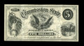 Obsoletes By State:Minnesota, Minneapolis, MN- Purmont & Steele $5 Hewitt UNL. A newlydiscovered full size piece of commission scrip that comes from apr...
