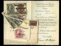 Miscellaneous:Other, World's Columbian Exposition Pass Chicago May 1 - Oct. 30, 1893.. This most interesting lot has a World's Columbian Expositi... (Total: 8 items)