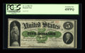 "Fr. 1a $5 1861""for the"" Demand Note PCGS Extremely Fine 45PPQ. The finest ""for the"" Demand note and..."
