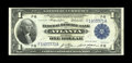 Fr. 723 $1 1918 Federal Reserve Bank Note Very Choice New. This $1 Atlanta FRBN has traces of embossing and nice color...