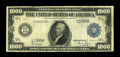 Fr. 1133-L $1000 1918 Federal Reserve Note Fine+. This is very similar in appearance to the note which sold in our Septe...