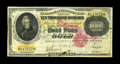 Large Size:Gold Certificates, Fr. 1225 $10000 1900 Gold Certificate Fine-Very Fine. These notes exist because of a fire in a government post office in Was...