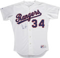 Autographs:Jerseys, Nolan Ryan Signed Jersey....