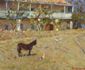 Fine Art - Painting, Russian:Contemporary (1950 to present), IVAN SOROKINE (Russian, 1910-1986). In Crimea, 1957. Oil oncanvas. 20-3/4 x 25-1/4 inches (52.7 x 64.1 cm). Signed and ...