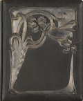 Decorative Arts, Continental:Other , AN ALBUM WITH SILVER OVERLAID COVER. Maker unidentified, 1899-1908.Marks: 84 (left facing kokoshnik) (Assay master Ivan...