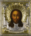 Other, A RUSSIAN ICON OF HOLY MANDYLION. 1816. Marks: Maker's mark . 12 x10-1/4 x 1-1/2 inches (30.5 x 26.0 x 3.8 cm). ...